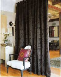 curtain room dividers home and decoration