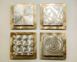 home decor wall sculptures silver gold modern metal wall sculpture contemporary metal