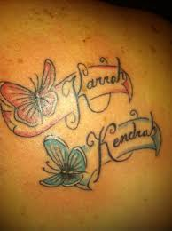 butterfly name ink
