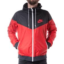 nike windbreaker nike windrunner jacket challenge red schwarz style for him