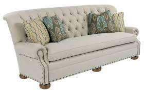 traditional 96 inch button tufted sofa with rolled back and