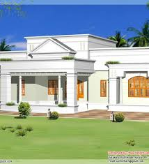 Kerala House Single Floor Plans With Elevations 3 Bhk Single Floor Kerala House Plan And Elevation 1 Floor House