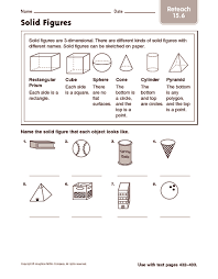 all worksheets plane and solid shapes worksheets printable