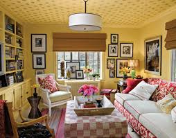 Redecorating Den Family Room - Country family rooms