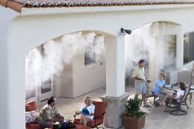 Patio Misting Kits Home Dzine Garden Make The Most Of Your Garden