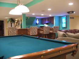 game room in finished basement white lake mi