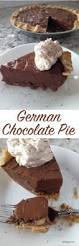 german chocolate pie recipe german chocolate pies chocolate