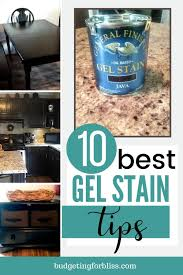 what is gel stain for cabinets 10 best gel stain tips for beginners budgeting for bliss