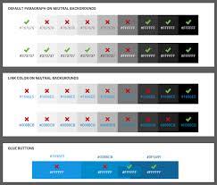Color Combinations For Website Color In Design Systems U2013 Eightshapes U2013 Medium