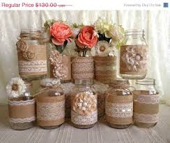 burlap wedding decorations for sale 10913