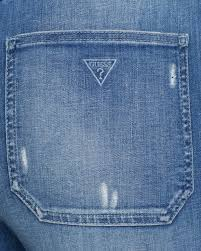 guess jumpsuits lyst guess jumpsuit cara denim in blue