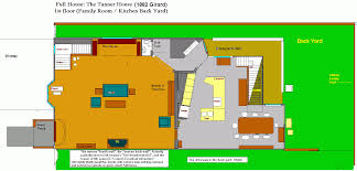 cougar town house floor plans