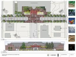cultural district iga parking management plan newberg cultural project history design schematic
