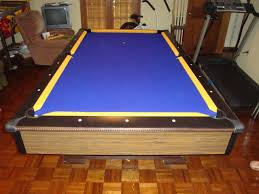 purple felt pool table w e m distributors before after 2 of 2