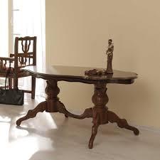 Esszimmertisch In Nussbaum Wohnzimmer Tisch In Nussbaumfarben Alberto Pharao24 De