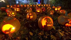 halloween 4k wallpaper beautiful decoration of happy halloween festival hd wallpaper