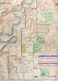 National Map Map Of Island In The Sky District Canyonlands National