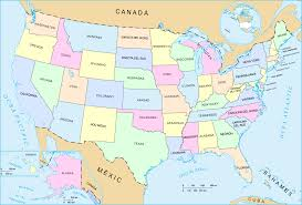 us map states hawaii united states map in