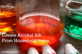 how to make alcohol inks u2022 craft thyme