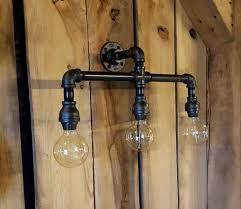 Barn Light Originals by Industrial Lighting Industrial Vanity Light Iron Pipe Light Bar