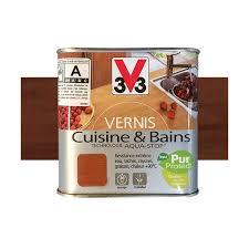 v33 cuisine et bain v33 vernis cuisine et bains teck de java satin pas cher en ligne