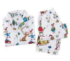 grinch pajamas size 2t pottery barn