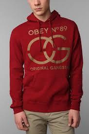 obey original gangsta sweatshirt 68 00 http www urbanoutfitters