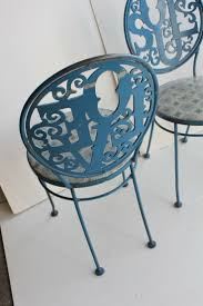 interior appealing wrought iron chairs and table in sunroom best 25 metal garden chairs ideas on pinterest metal outdoor