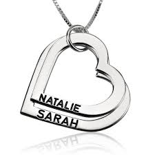 Engravable Heart Necklace Sterling Silver Engraved Heart Mother Necklace Order Now