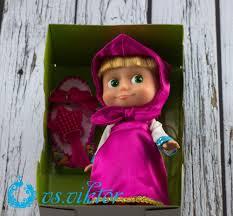 doll masha 6 3 inch masha and the bear cartoon sings one song best