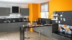 cuisine orange et gris peinture orange cuisine porownywarka info