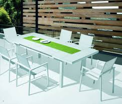 modern outdoor dining table modern patio archives la furniture blog pertaining to modern patio