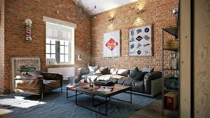 Industrial Interior Design by Living Room Design Industrial Interior U2013 Living Room Ideas