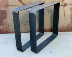 Flat Bar Table Legs 3 U0027 U0027x3 8 U0027 U0027 Flat Bar Bench And Coffee Table Legs