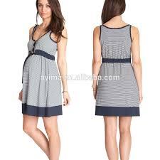 nautical striped maternity dress front button sleeveless maternity