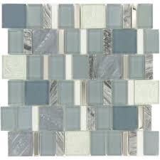 Brown Gray Metal Slate Backsplash by Interior Tiles Inspiration Fabulous Dark Wood Kitchen Cabinet
