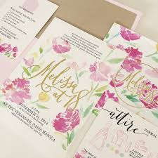 wedding invitations philippines marché wedding philippines top 12 wedding invitation suppliers