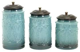 canister sets for kitchen aqua kitchen canisters tea coffee sugar kitchen canister set aqua