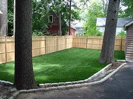 Lawn Free Backyard Artificial Lawn Desert Springs California Drainage Backyard