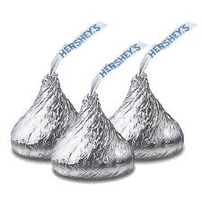 hershey s kisses milk chocolate 4 25 lb bulk bag great service