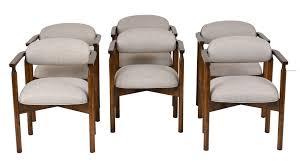 mid century modern two tone kneehole desk mid century modern desks