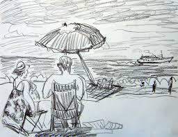 kate knapp artist blog summer on the block island beach