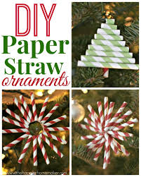 diy paper straw ornaments diy ideas diy paper