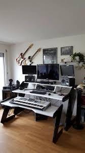 Music Studio Desk realstudioporn digitolia studio vibe pinterest music