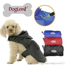 2018 High quality Trade Wholesale Pet Raincoat Dog Collapsible