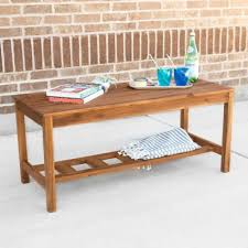 Acacia Wood Coffee Table Buy Acacia Wood Tables From Bed Bath Beyond