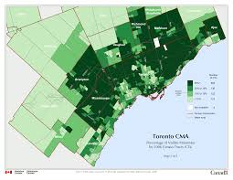 Canada Population Map by Map Of White Segregation Enclaves In Toronto Restructure