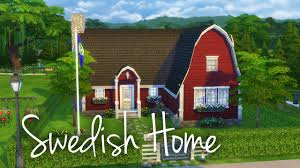 the sims 4 house building swedish home youtube