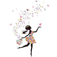 poster chambre fille dcoration papillon chambre fille dcoration murale papillon gossip