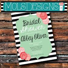 vintage bridal baby black and white stripe mint coral pink